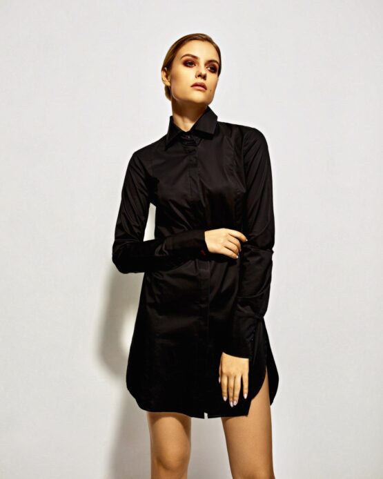 Blouses Blues - Night Watch black shirt