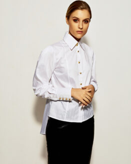 Blouses Blues - Opera white shirt