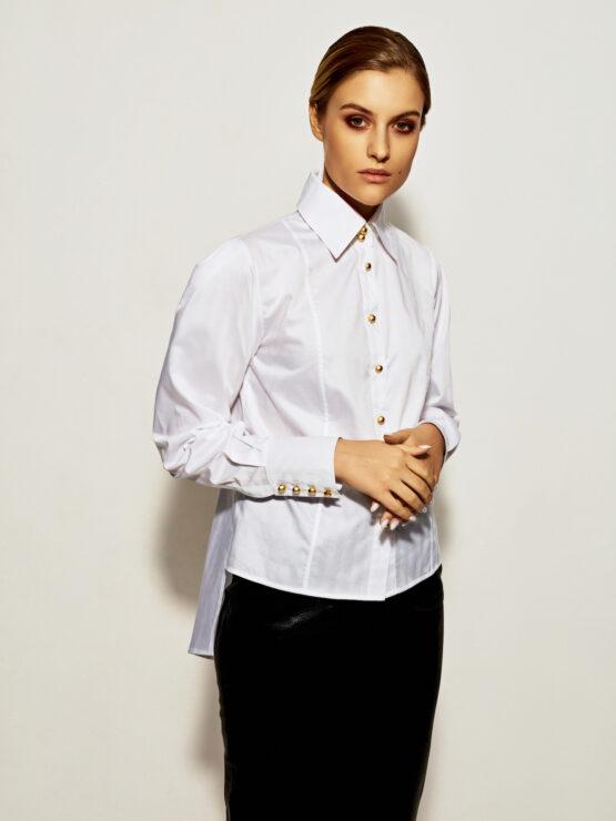 Blouses Blues - Opera white shirt